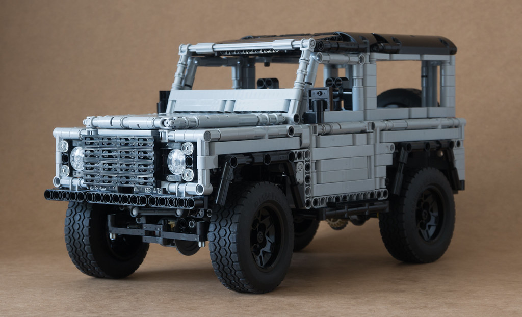 Lego Land Rover Defender 90 By Sheepo Mod 2 000 0000 Edit