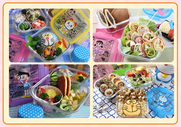 8 7-16 哆啦A夢樂遊一夏集點送 野餐折疊桌、野餐折疊椅、公仔自動傘、哆啦A夢面紙套、立體保冷袋、漫畫風玻璃便當盒