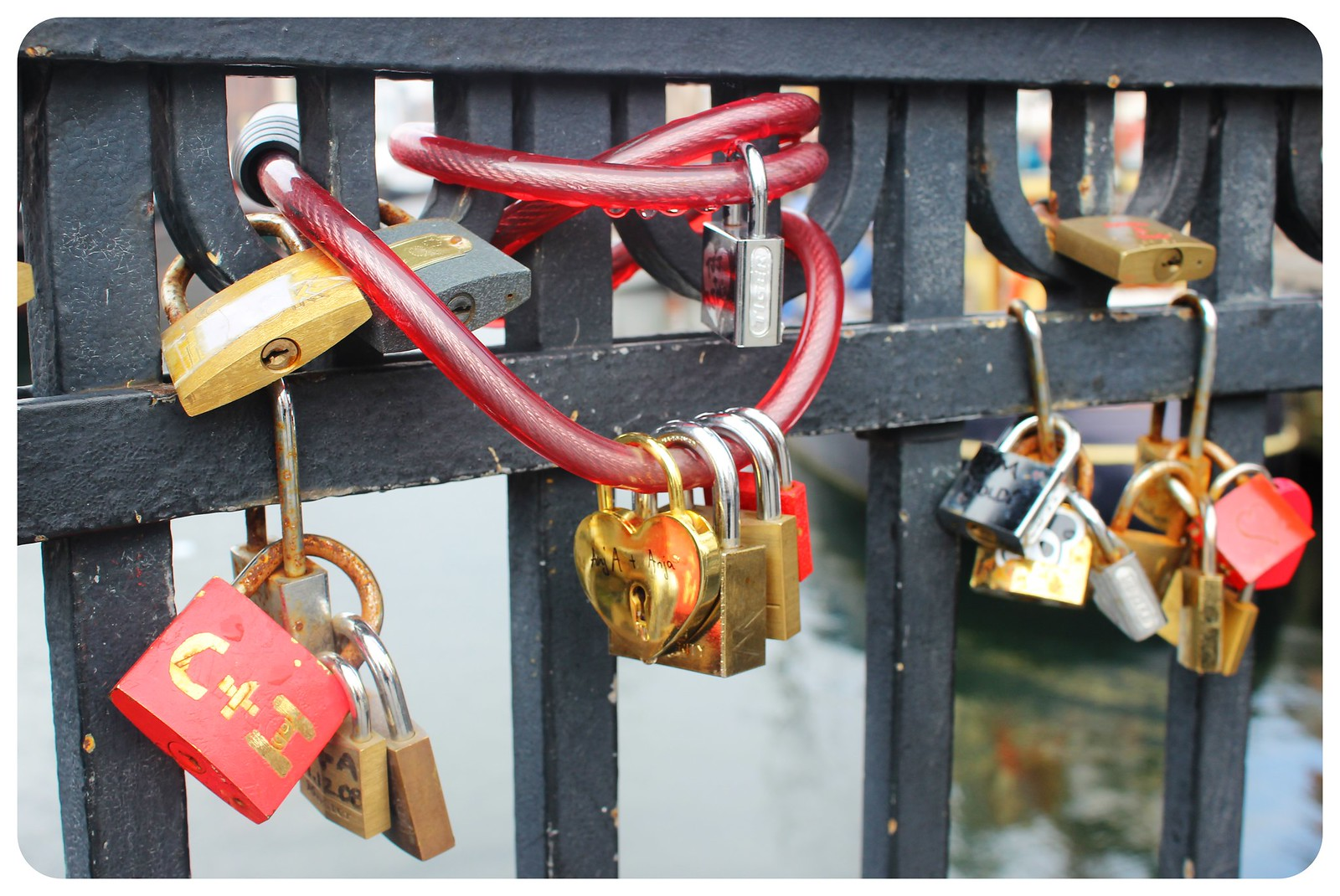 copenhagen love locks