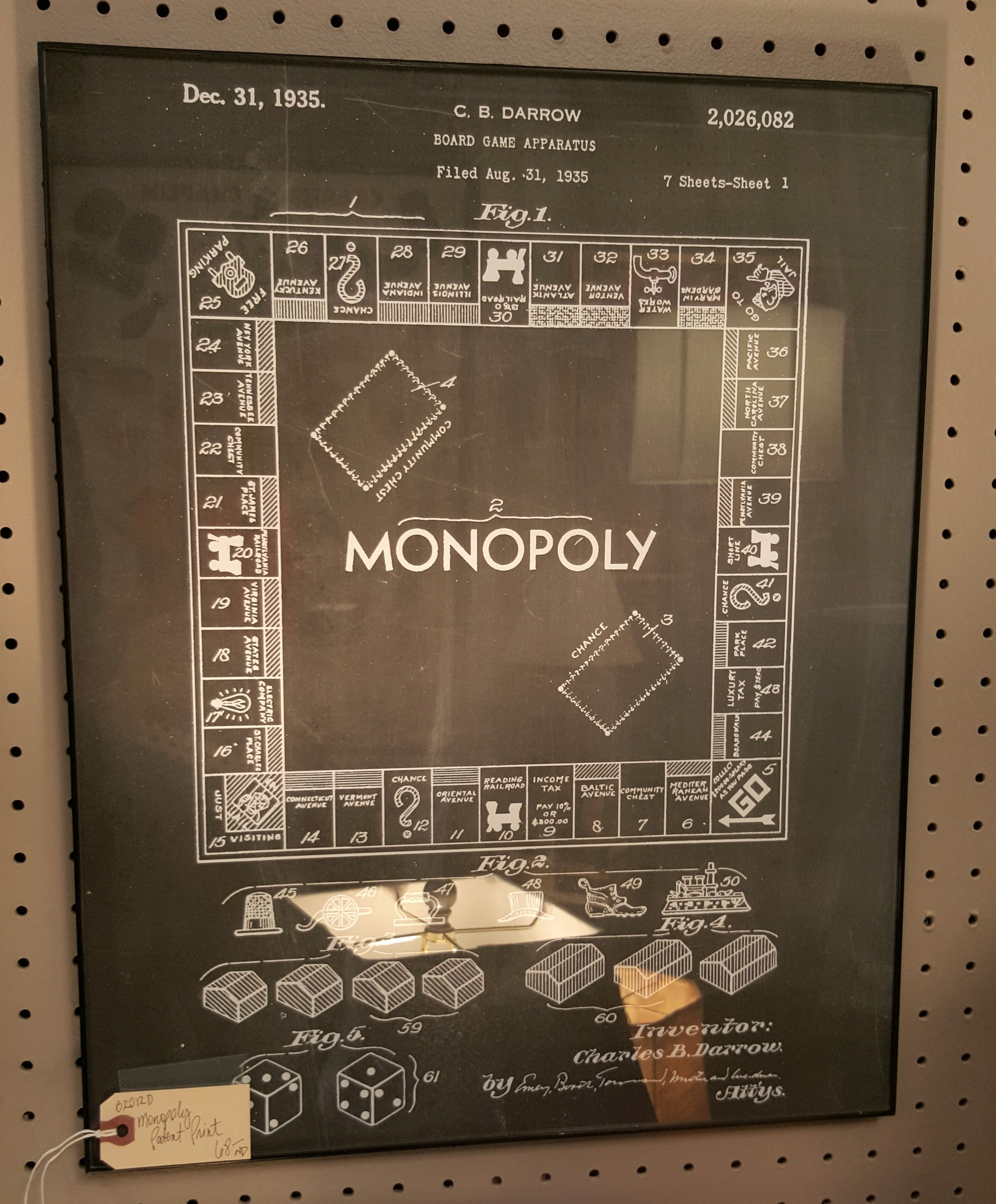 Monopoly Blueprint - Gaslamp Antiques