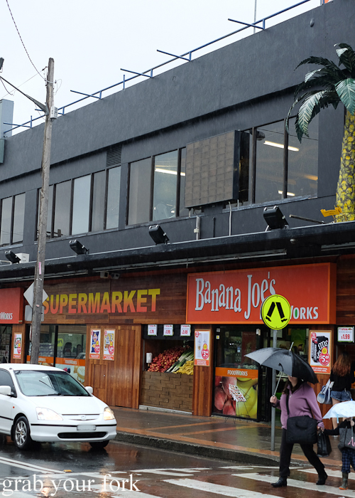 Visiting Banana Joe's supermarket for the Community Kouzina Marrickville Food Tour for Open Marrickville