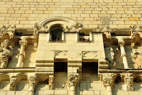 Schlösser der Loire Tal der Loire Candes Saint-Martin Kirche Tuffstein St. Martin Loire Vienne Foto Brigitte Stolle 2016