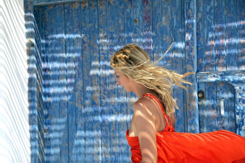 cheveux eau de mer et soleil
