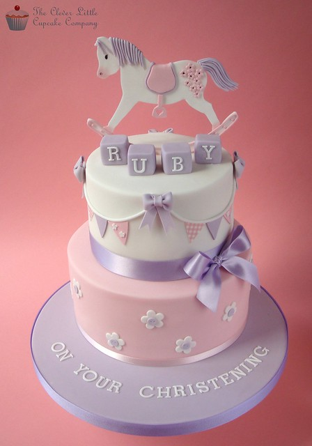 Rocking Horse Christening Cake Flickr - Photo Sharing!