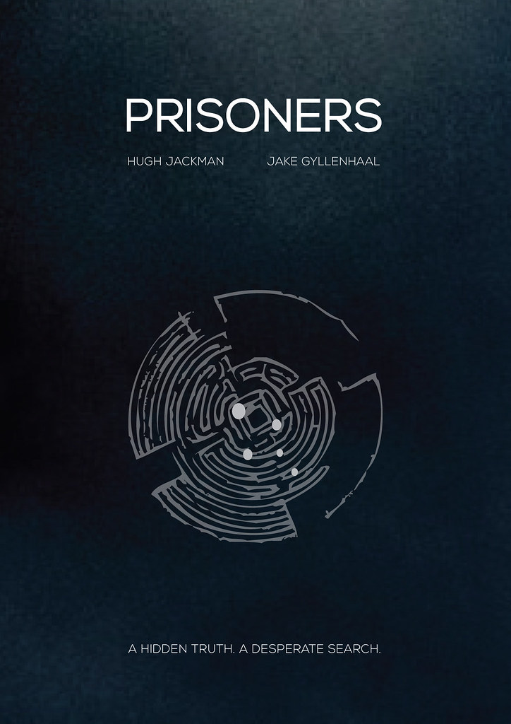 Prisoners | Minimal movie poster | Besim Hakramaj | Flickr
