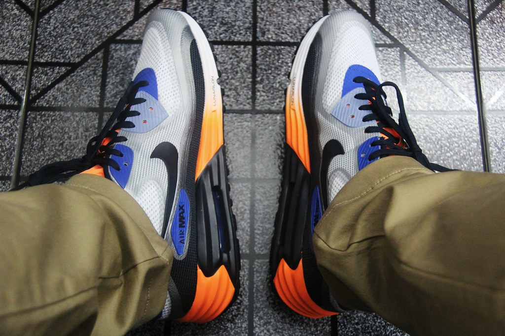 online retailer 7ef54 f95a9 ... Nike Air Max Lunar90 (GAME ROYALWOLF GREY) by Calvin Nguyen.