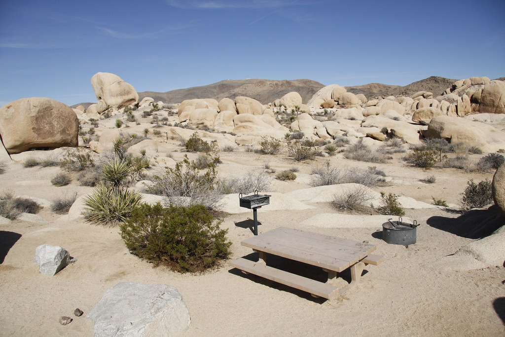 White Tank Campground Located Off Pinto Basin Road In
