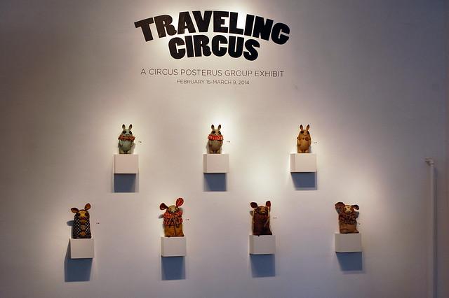 Circus Posterus - Traveling Circus - Rotofugi - February 15th, 2014