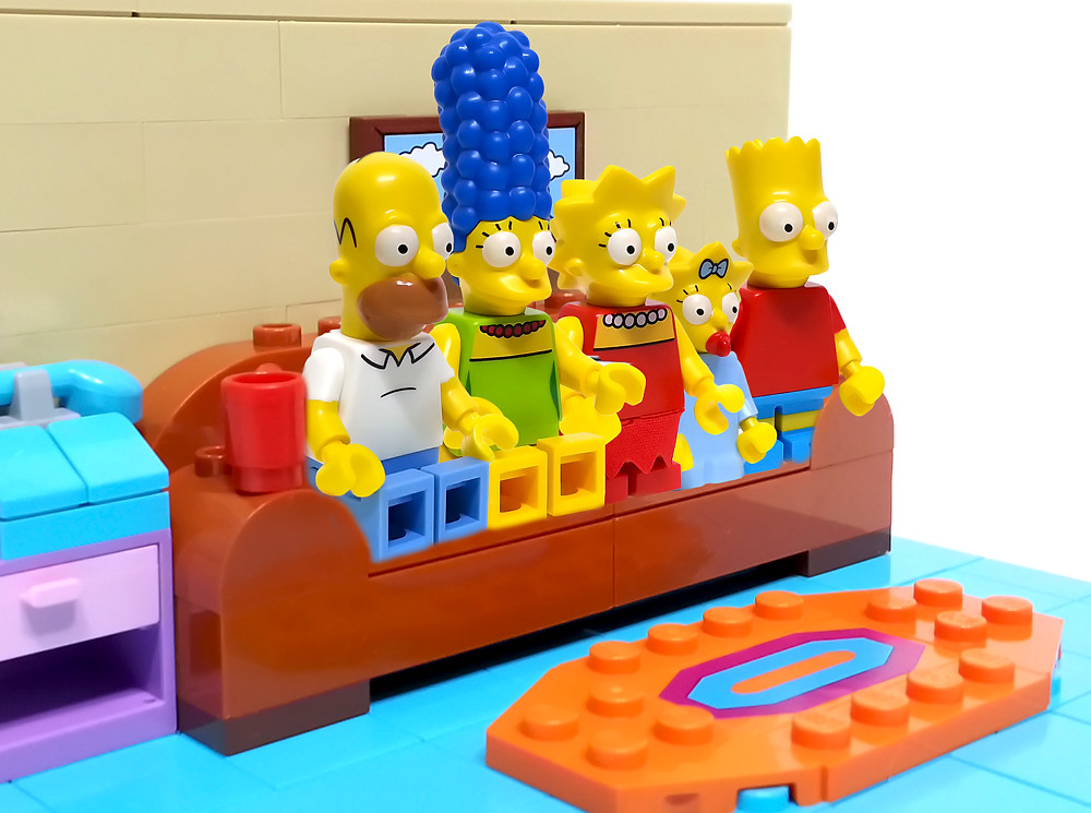 LEGO SIMPSONS LIVING ROOM | Yolo.tistory.com/199 | Yong Kwan Lim | Flickr