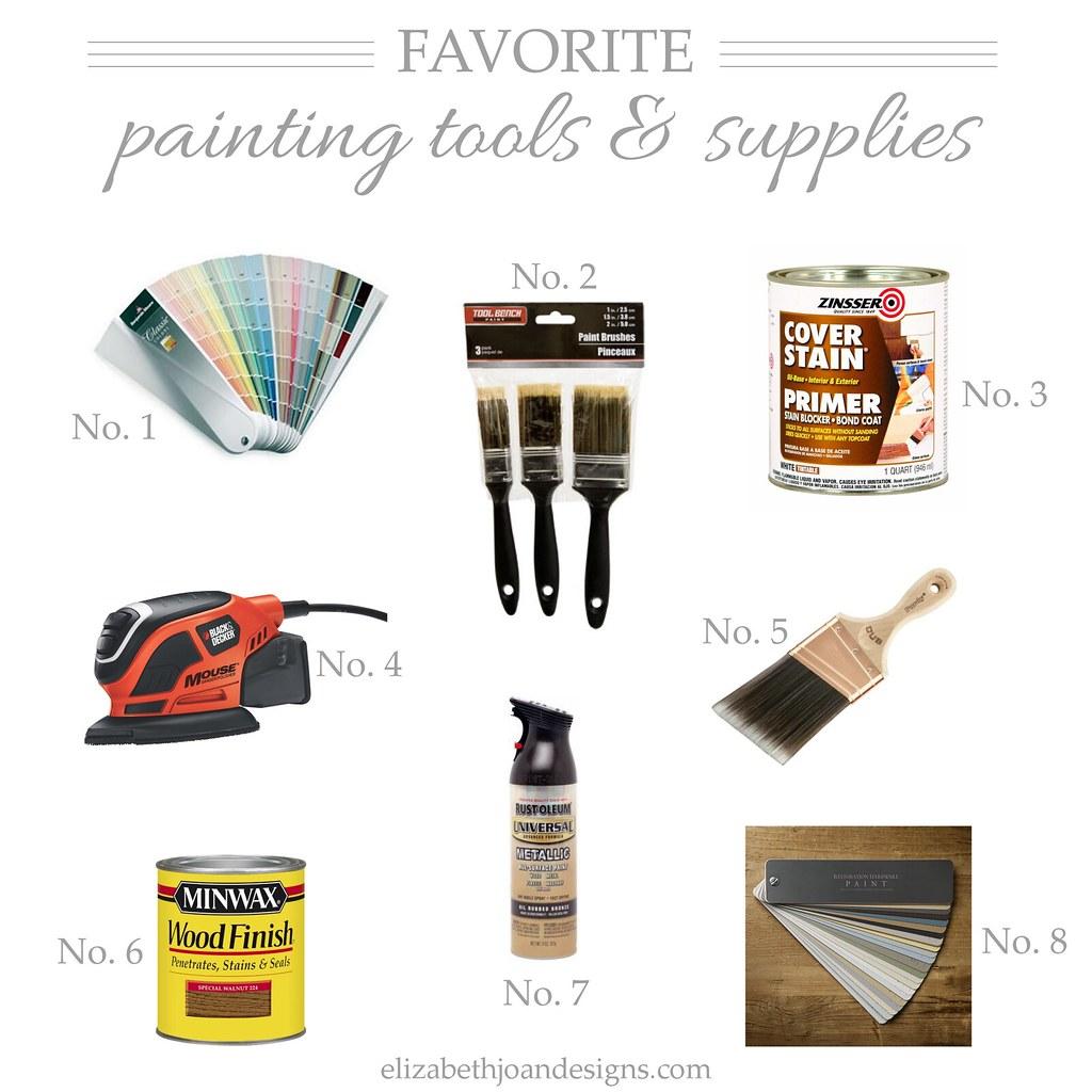 Favorite Tools & Supplies
