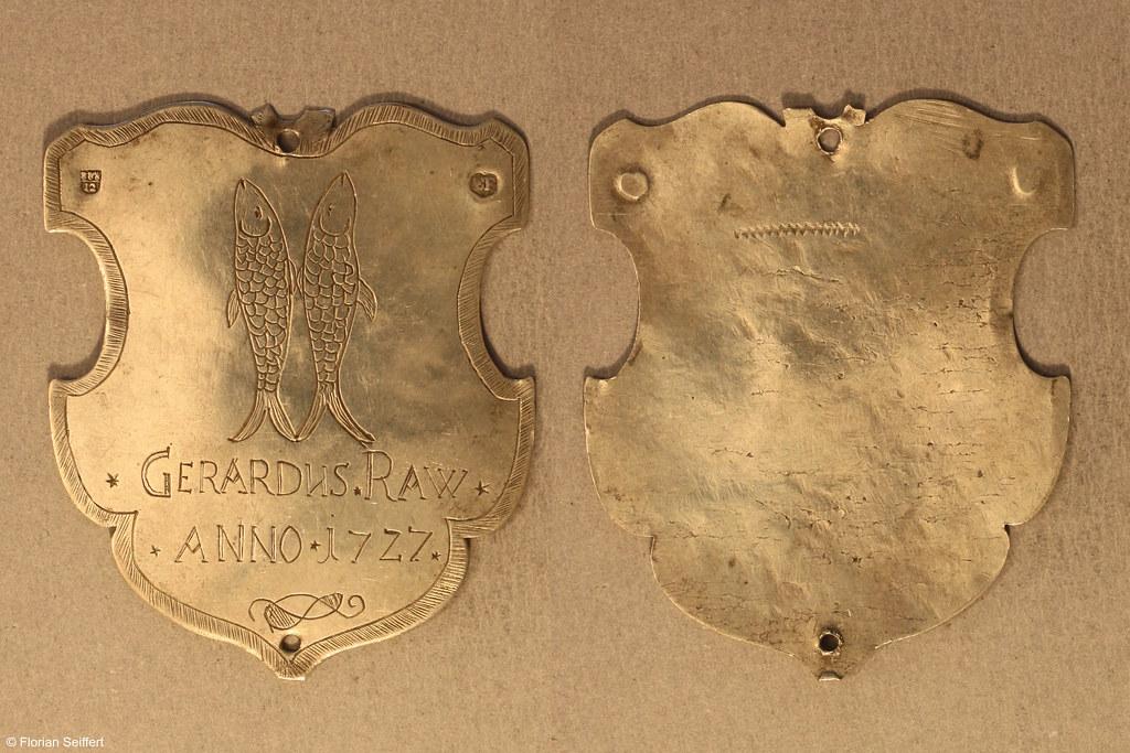 Koenigsschild Flittard von raw gerardus aus dem Jahr 1727