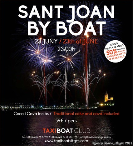 SANT JOAN BY BOAT