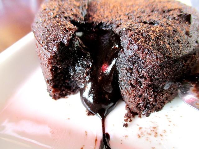 Bistecca & Bistro chocolate fondant