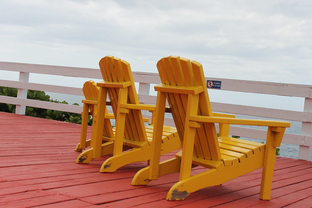 yellow twin chairs