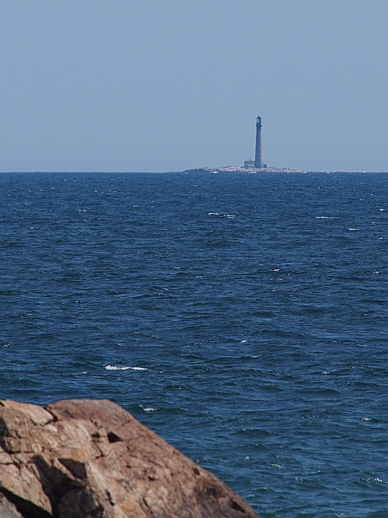 Boon Island Lighthouse Tallest In New England Boon