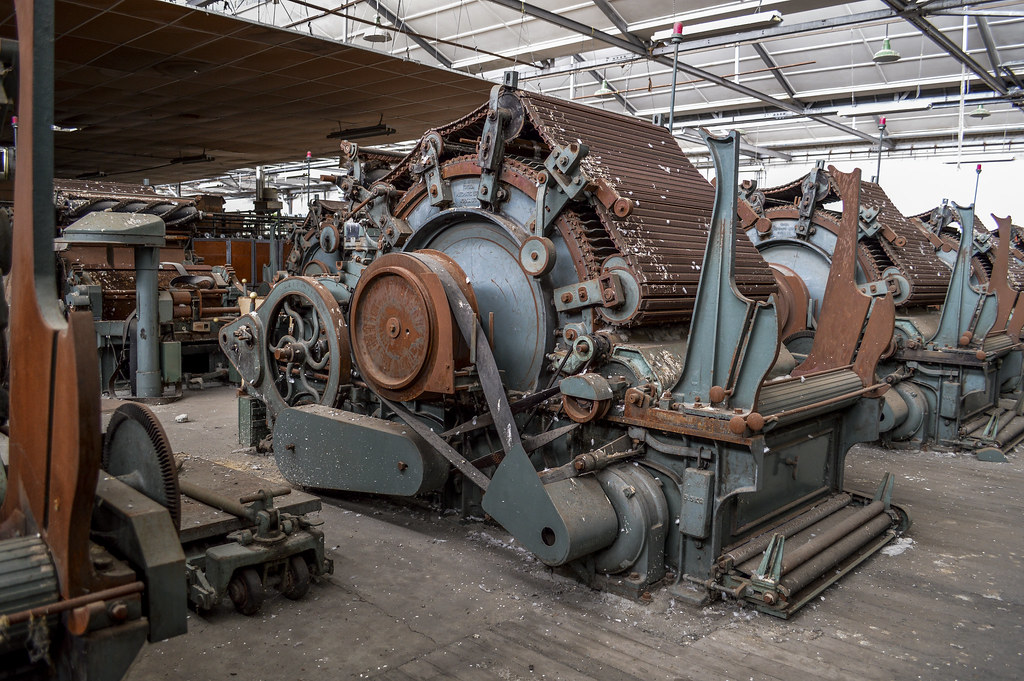 Image Result For Abandoned Factory Machinery