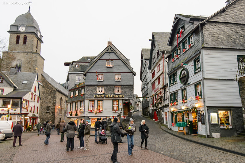 The old town in Monschau