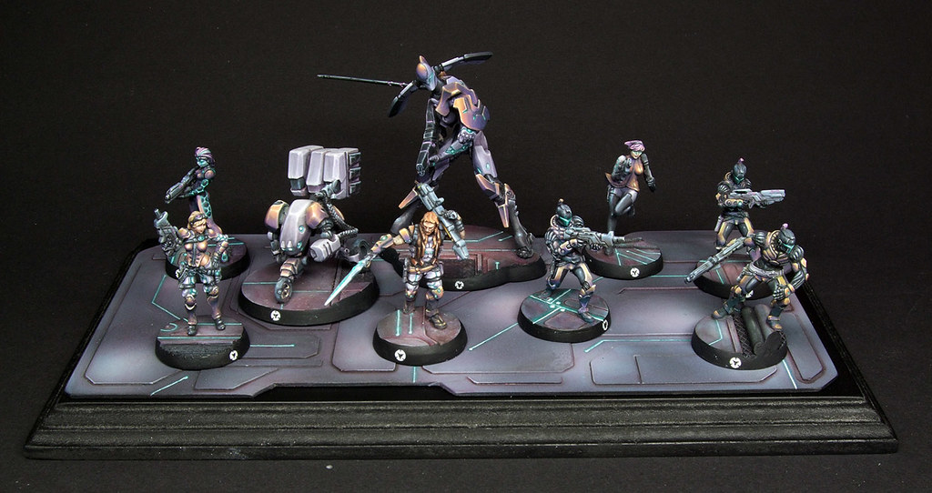 Finished Infinity Aleph Squad Here S My Aleph Infinity