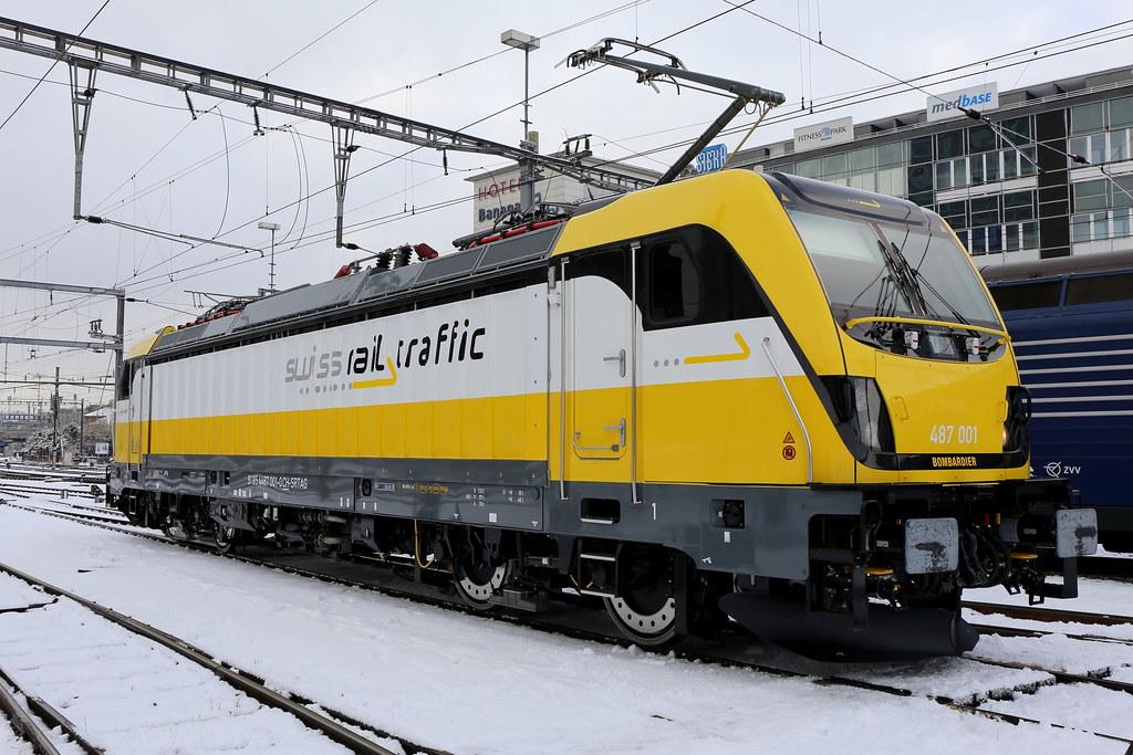 Srt 487 001 0 Winterthur Swiss Rail Traffic Srt