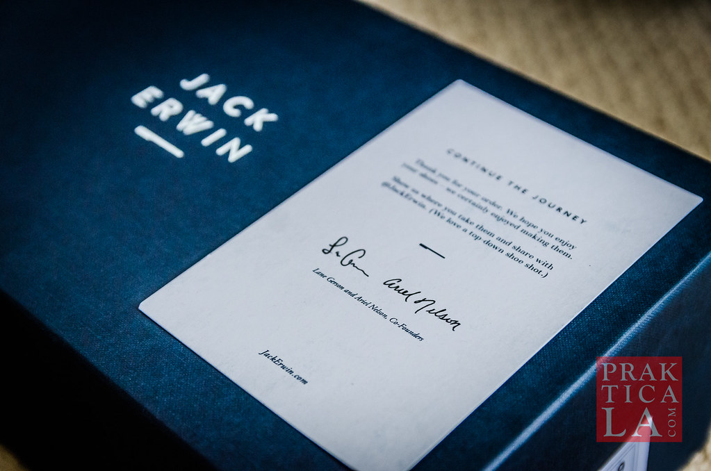 jack erwin cooper boat shoes thank you note