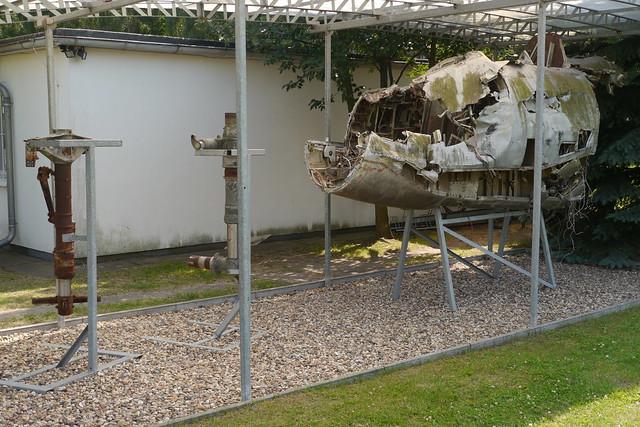 Wrack einer Iljuschin Il-28