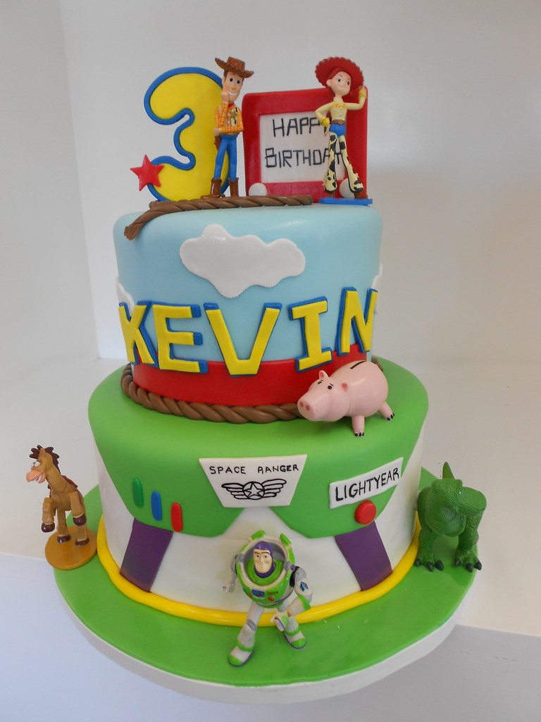 Toy Story Cakes For Boys : Toy story cake toys provided by client