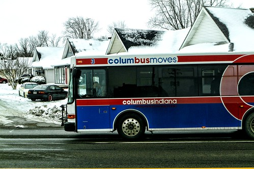 Columbus Indiana Transit | by raymondclarkeimages