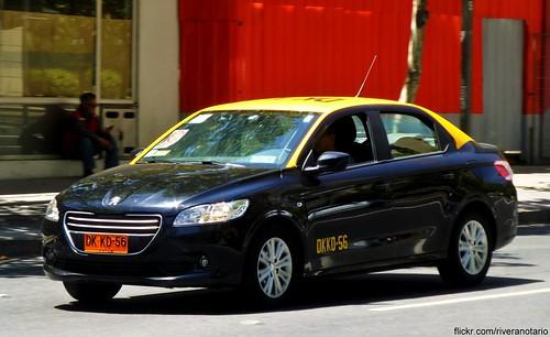 Peugeot 301 Taxi - Santiago, Chile