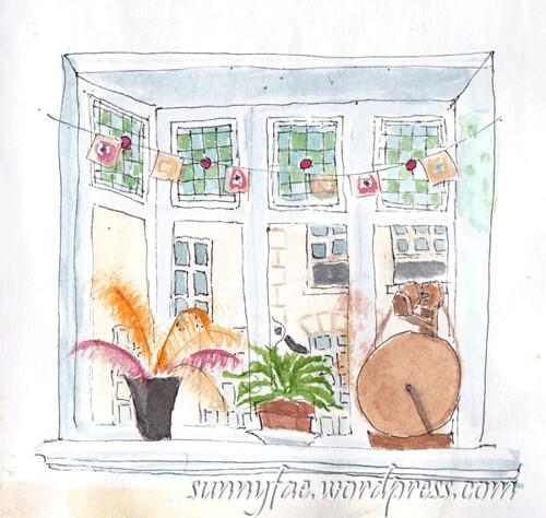 Watercolour Window Sketch