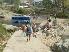 Bus Wasch in Nepal