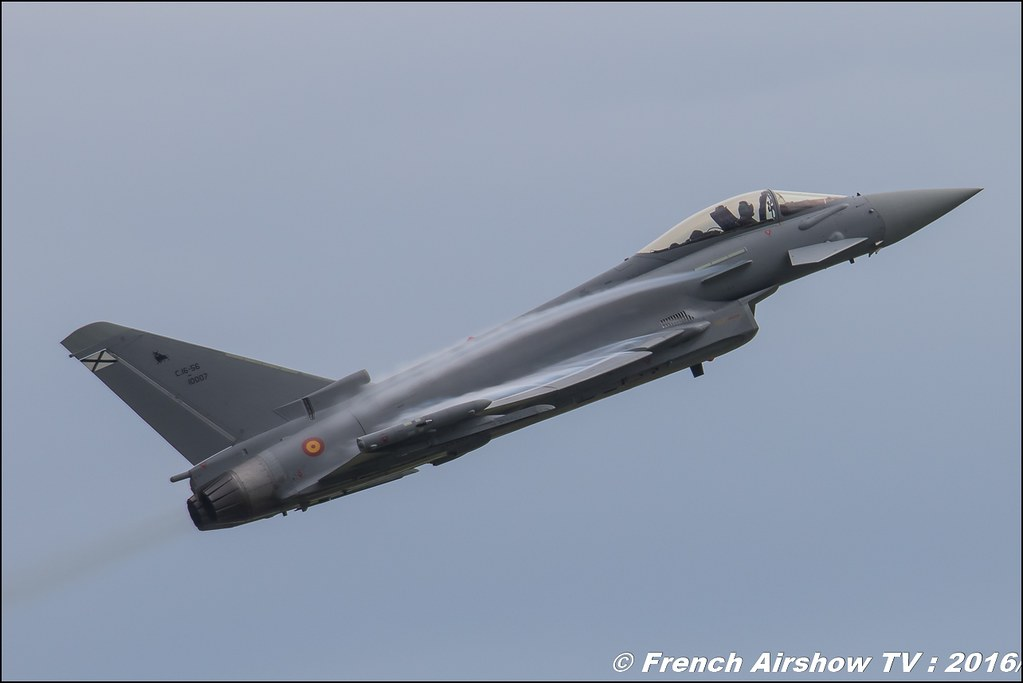 Eurofighter Typhoon Spain , EADS , display ,Meeting de l'air BA-702 Avord , Meeting Aerien Avord 2016 , FOSA , Armée de l'air , Canon Reflex , EOS System