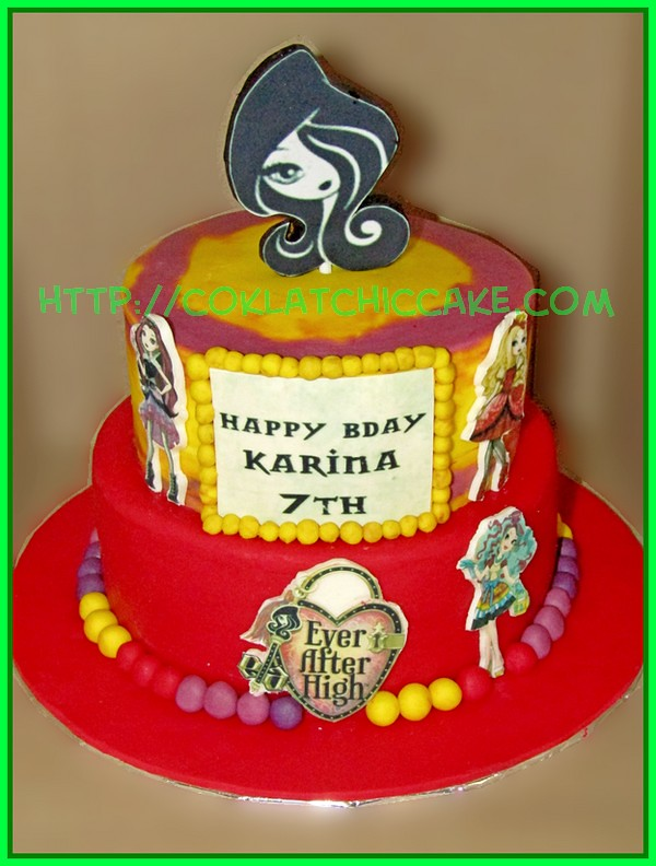 Cake ever after high