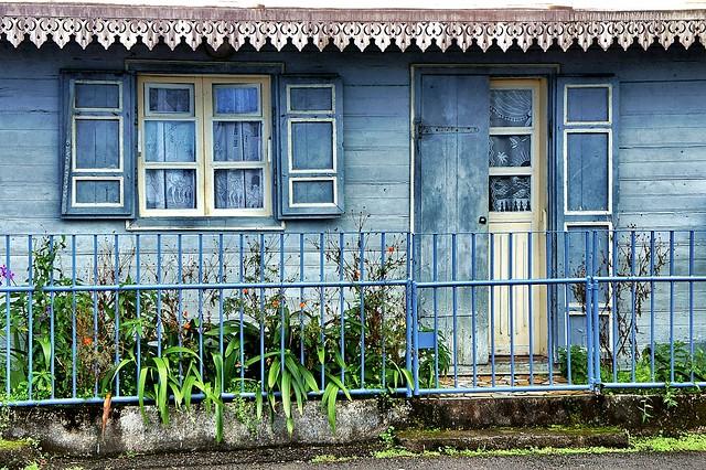 Casa criolla típica de Isla Reunión