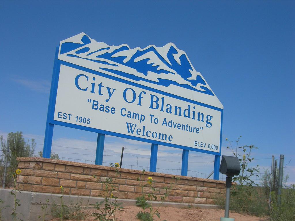 Blanding City Limits Blanding Utah Jimmy Emerson Dvm