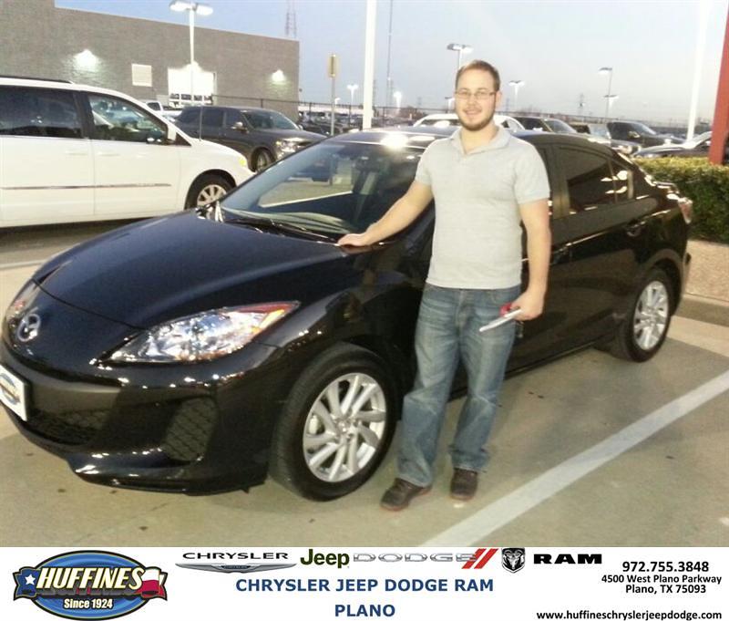 Thank You To Aaron Adams On Your New 2012 Mazda Mazda3 F