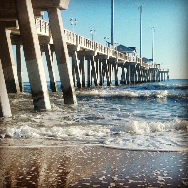 Good morning from jennette 39 s pier in nags head obx oute for Jennette s fishing pier