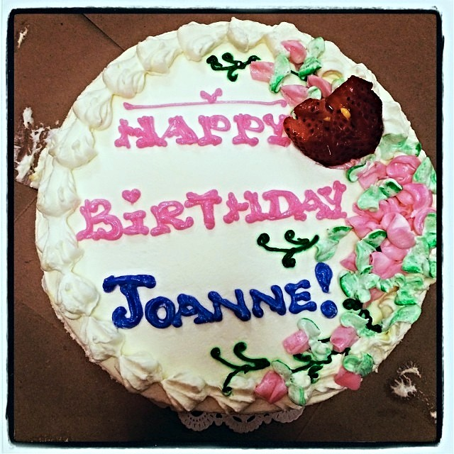 Happy Birthday Joanne Cake