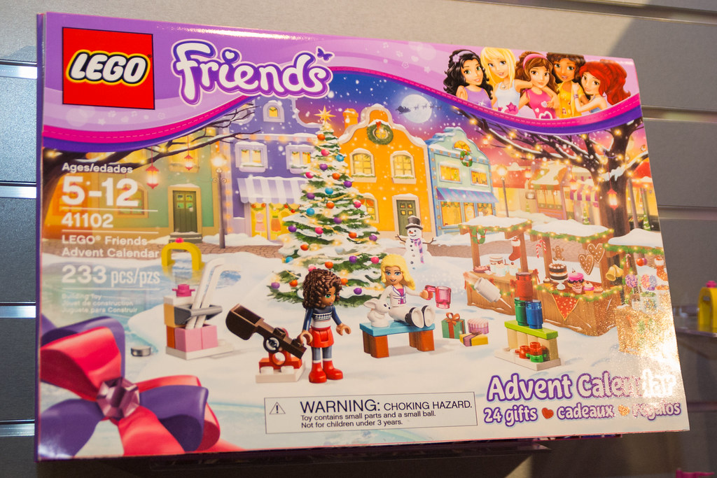 41102 Friends Advent Calendar | Vyn Raskopf | Flickr