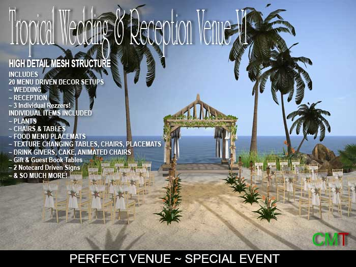 Tropical Wedding Venue V1