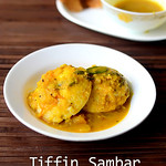 Idli sambar recipe with ground vegetables