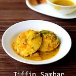 Idli sambar recipe with ground vegetables