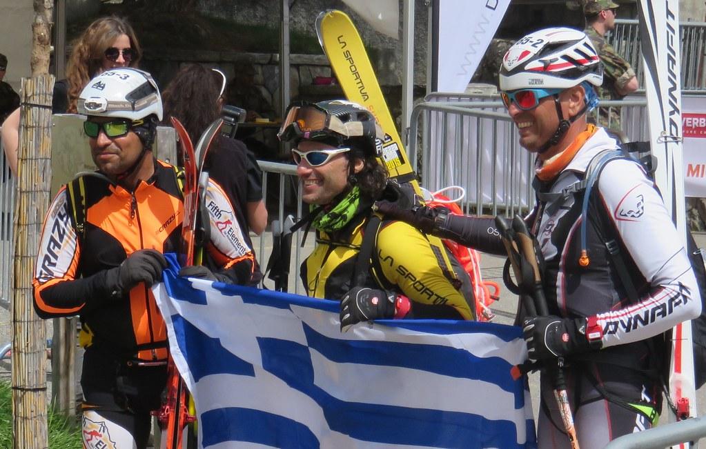 Η ομάδα Σταθόπουλος Γιάννης, Μωϋσίδης Ηρακλής, Μποτέλης Λάζαρος.