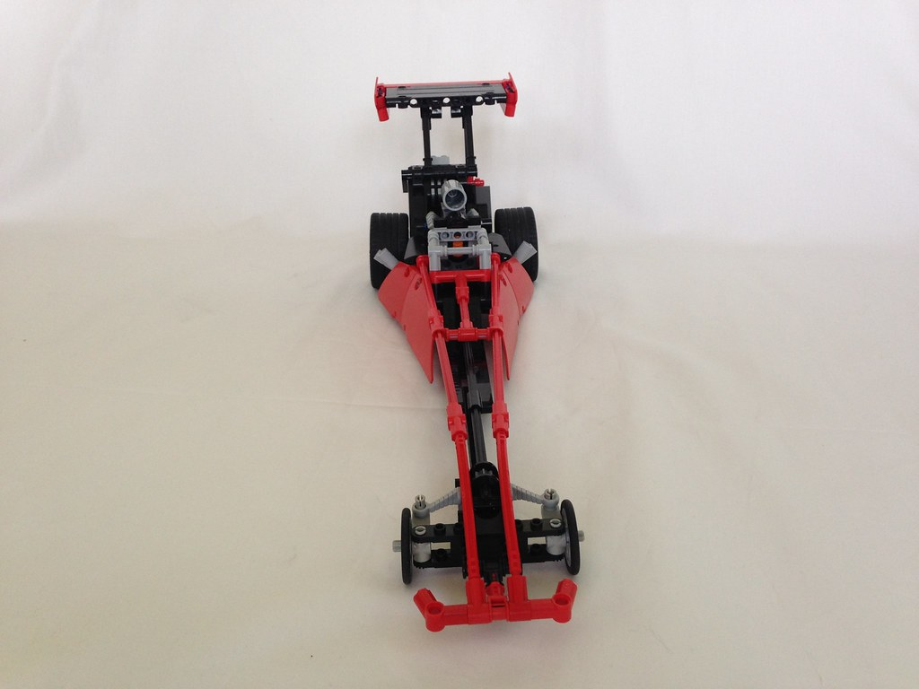 Lego Top Fuel Dragster Video