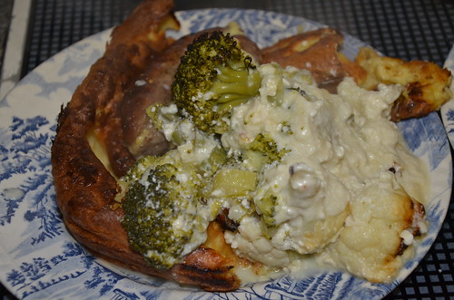 toad in hole and cauliflower cheese Jul 16