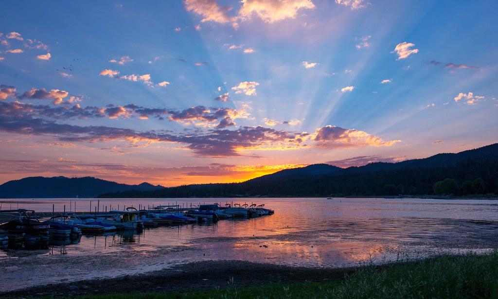 Big Bear Lake Sunset 2 Of 2 New Uploads We Spent The