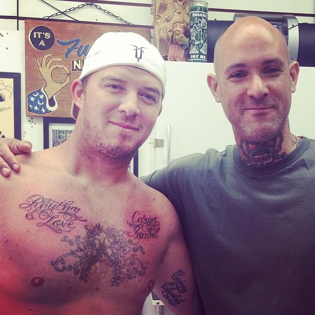 Some fresh ink from philadelphia eddie 39 s tattoo shop in th for Eddies tattoos philadelphia
