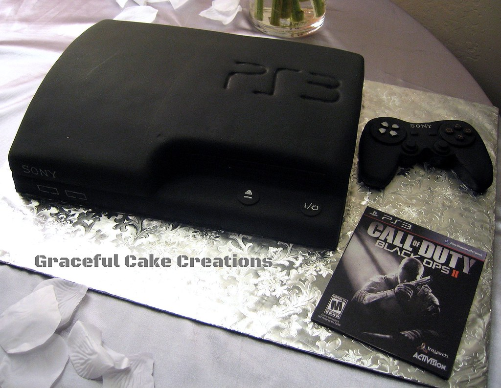 Playstation  Cake Topper