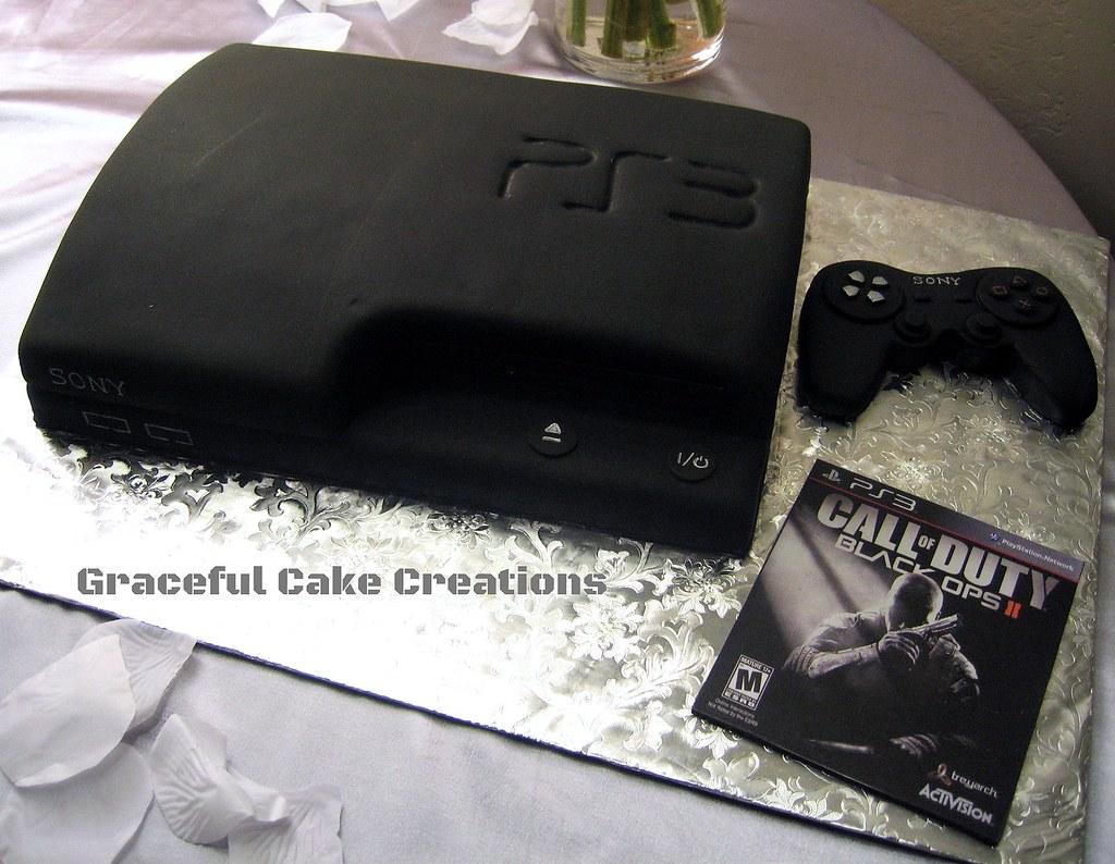 Guitar Birthday Cake Template