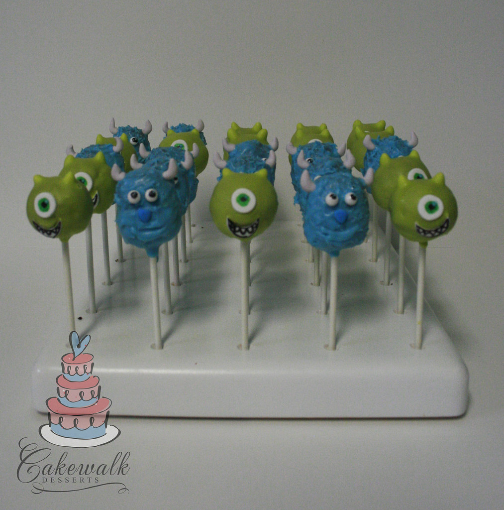Baby Monsters Inc Cake