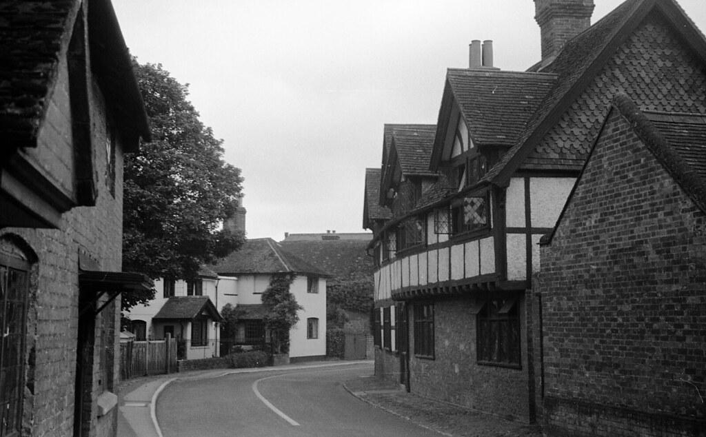 England 1938, The Street in Wonersh, Surrey 11-002